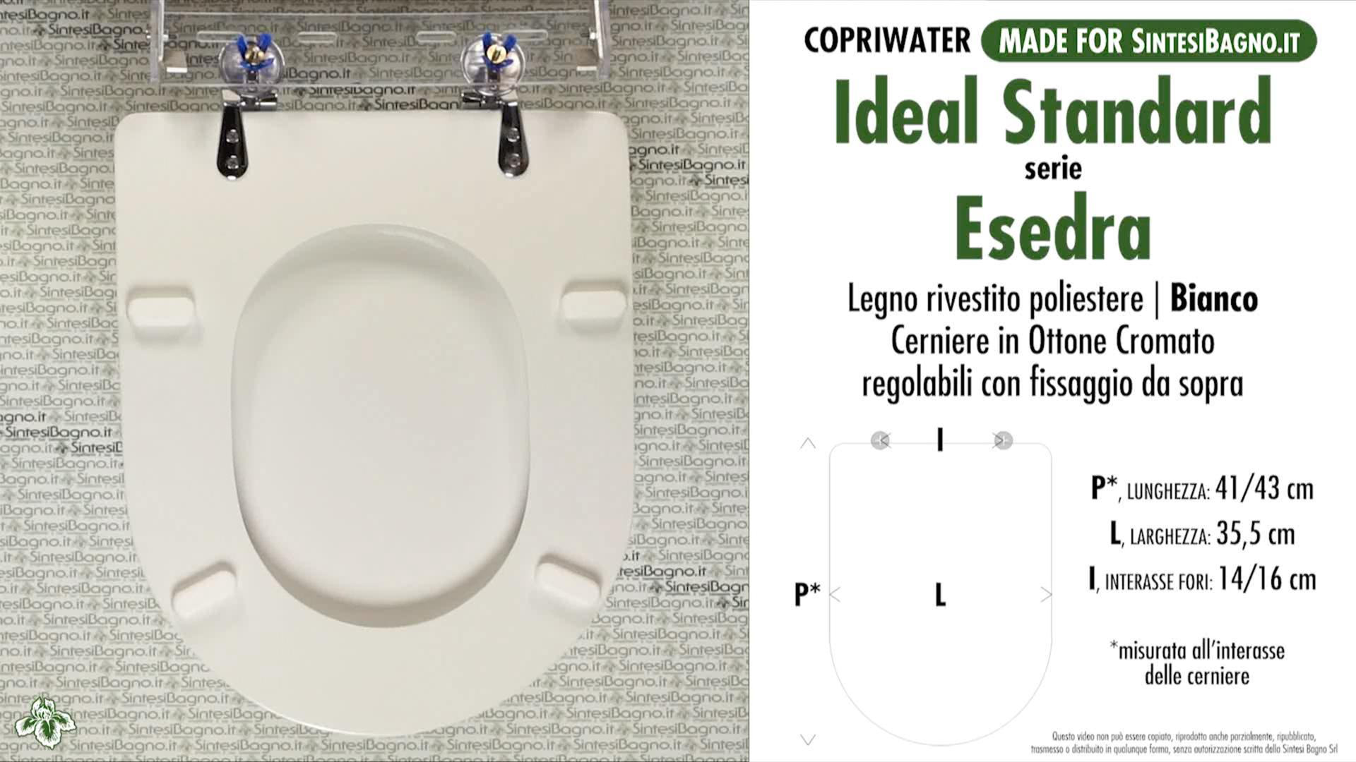 wc sitz sintesibagno made f r ideal standard wc esedra. Black Bedroom Furniture Sets. Home Design Ideas