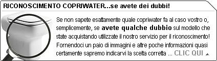 Guida al riconoscimento copriwater | Come sostituire il sedile WC