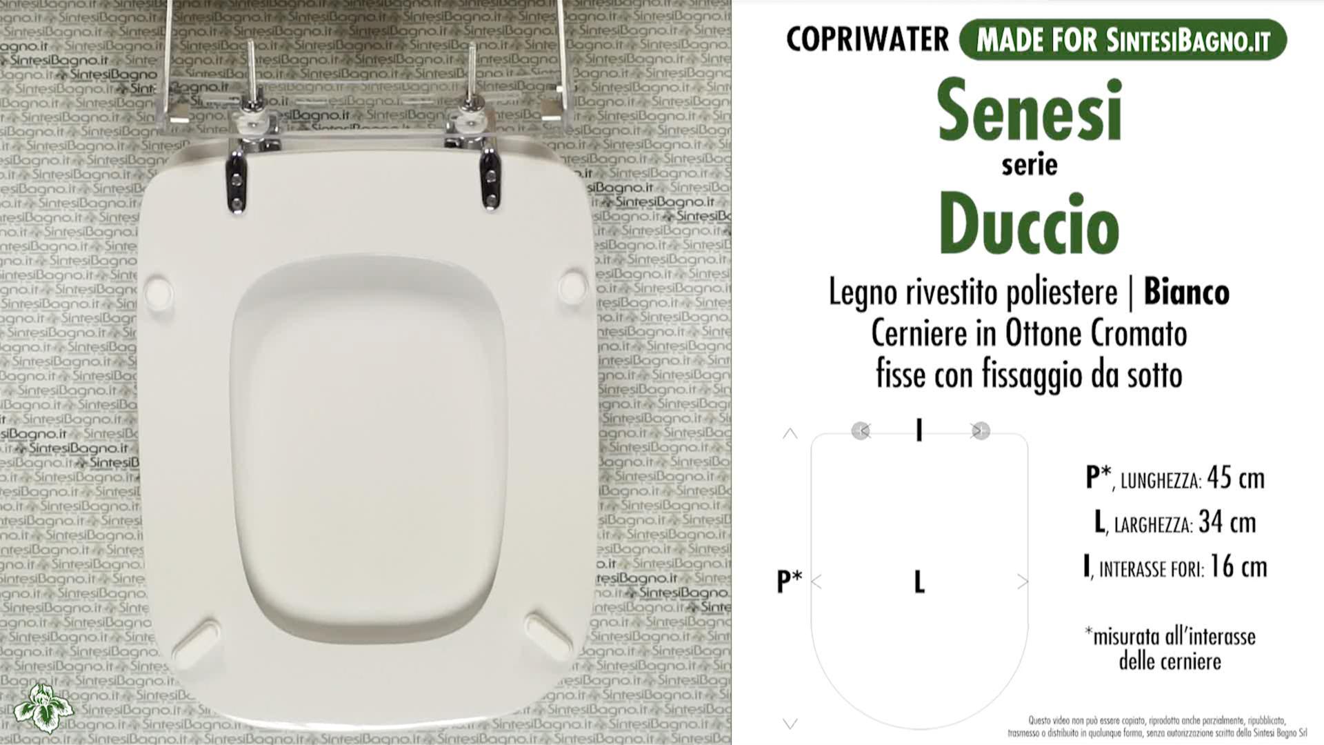 Details about Toilet Seat/WC-Seat SintesiBagno MADE for Senesi WC DUCCIO  series. DILDUCCIOBI